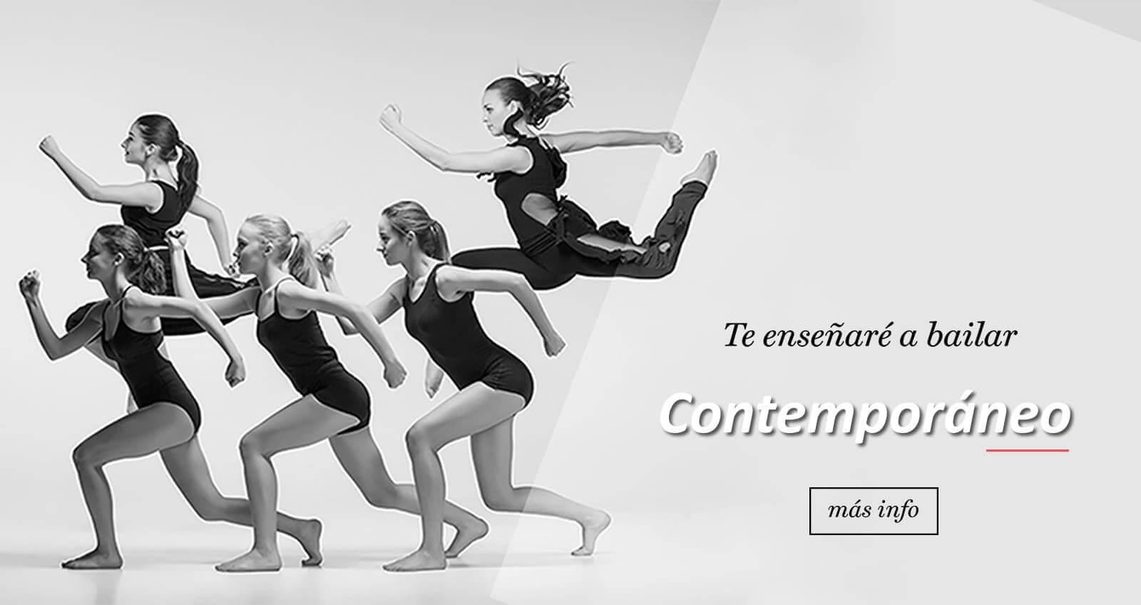 aprende a bailar contemporaneo