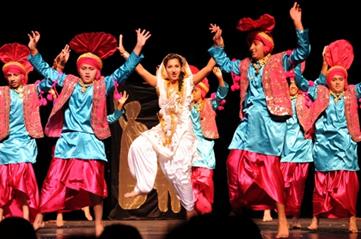 baile hindú, bhangra