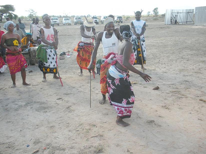Danzas africanas