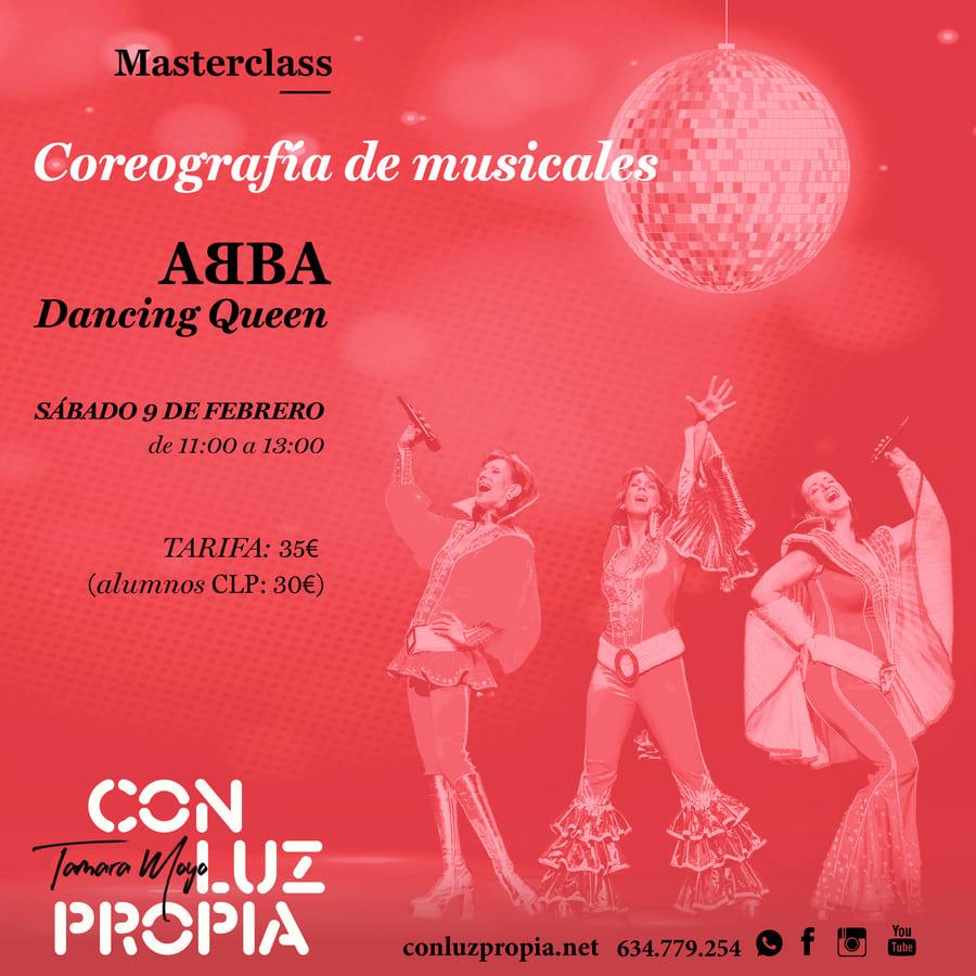 Masterclass coreografia de musicales 09.02.2019