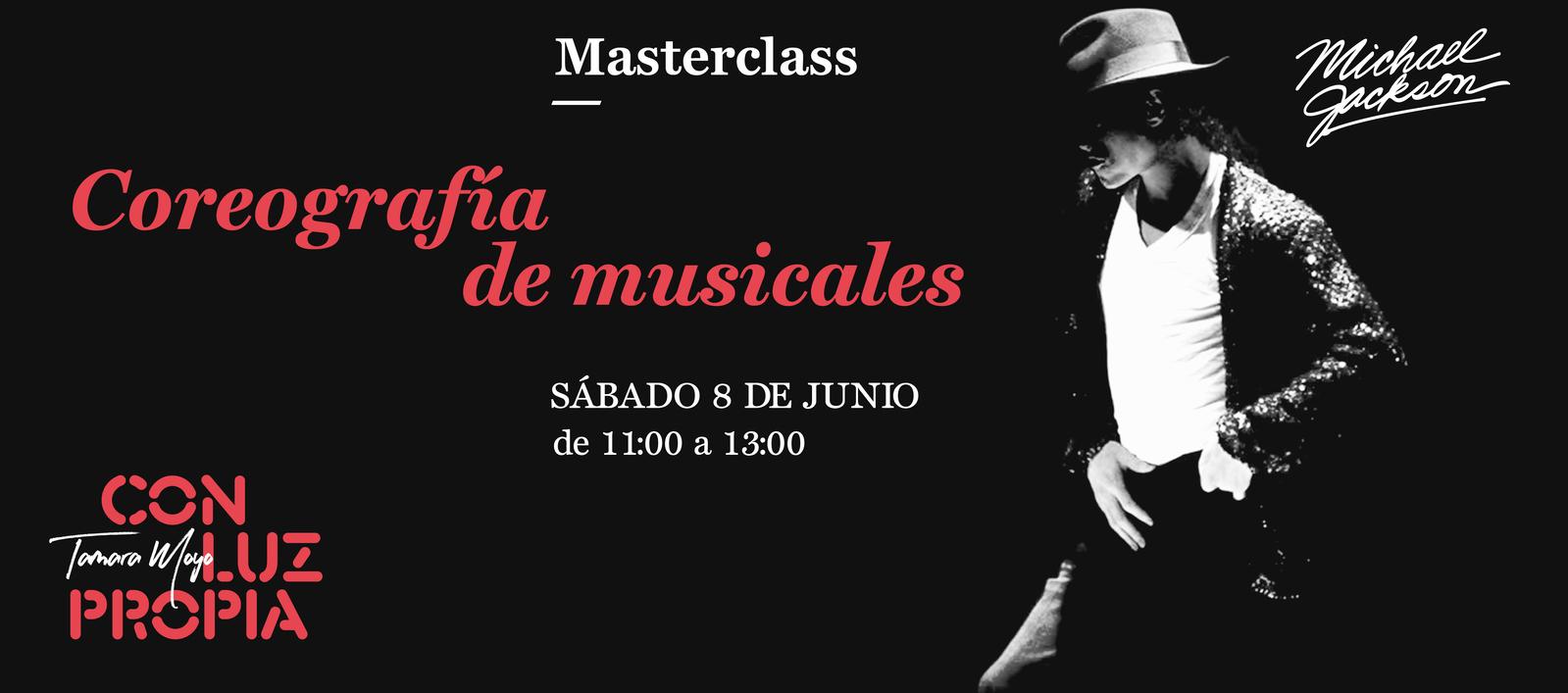 Masterclass coreografía musicales junio 2019
