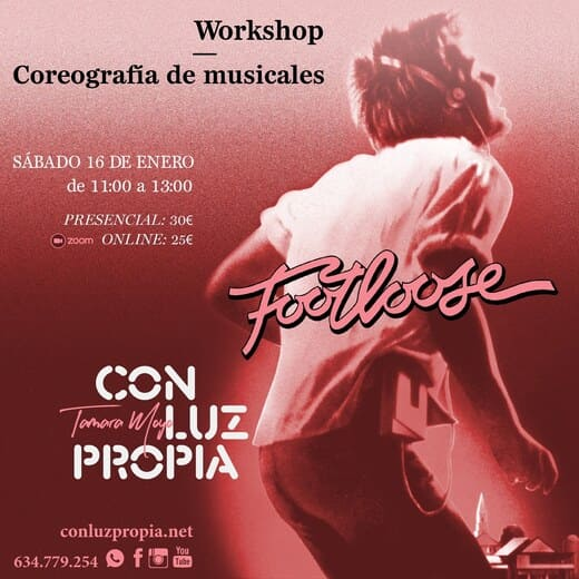 Workshop coreografía de musicales